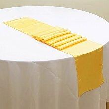 NEU Tischläufer, Bankett Hochzeit Weihnachten Party-Tischdecke mit 16Farben Free Size #4