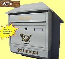 NEU Toller Briefkasten W groß in edelweiss weiß