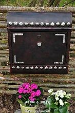 NEU Vintage-Briefkasten, wetterfest grundiert und