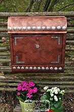 NEU Vintage-Briefkasten XXL, mit Rostschutz cu/at