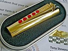 Neue 24K vergoldete Metall Clipper Feuerzeug mit