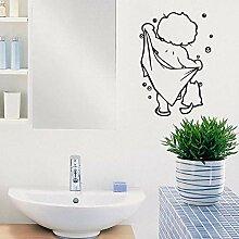Neue Baby Dusche Wandaufkleber Ausgangsdekor Für