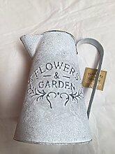 Neue Blumen & Garden Krug verzinkt Outdoor