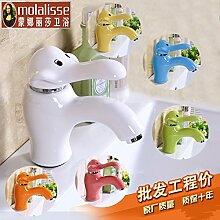 Neue Boutique - Kinder - Keramik - Wasserhähne, Kindergärten, Waschbecken, Farbe,Gelb