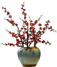 Neue chinesische Keramik Vase, Esstisch,