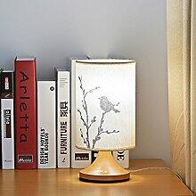 Neue Chinesische Lampe/Hochzeit,Hochzeitszimmer,Nachttischlampe/Schlafzimmer,Bett,Kurzübersicht,Moderne Tischleuchten-B