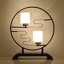Neue Chinesische Lampe/Kreative,Restaurant,Mode-lampe/Glas,Living Room,Schlafzimmer,Bett,Beleuchtung In Der Studie-A