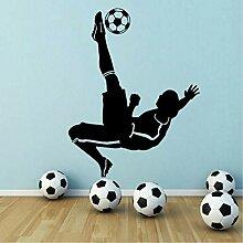 Neue Fußball Fußball Jungen Wandaufkleber Home