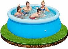 Neue große 8ft Planschbecken Garten Pool Kinder Fun Familie Schwimmen Outdoor aufblasbar Sommer