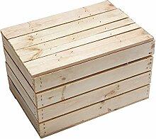 Neue Holztruhe natur *klein*- unbehandelte
