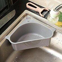 Neue Küche Dreieckiges Waschbecken Sieb Abfluss
