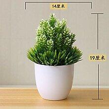 Neue Künstliche Pflanzen Bonsai Kleine Baum Topf