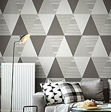 Neue Mode geometrische abstrakte Tapete Rolle