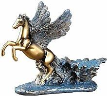 Neue Pegasus Weinregal Statue Ornamente