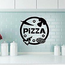Neue Pizza Dekorative Aufkleber Wasserdichte