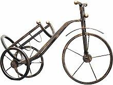 Neue Retro Fahrrad Weinregal Statue