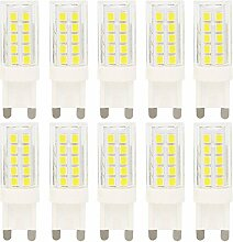 Neue Stil 10 Stück G9 LED Stiftsockellampe 5 Watt
