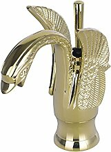Neue Swan Design Waschbecken Wasserhähne warm &