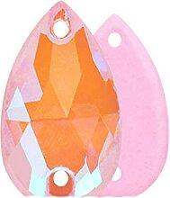 Neue Top-Qualität Tropfen Glas Kristall Strass