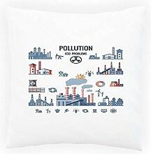 Neue Verschmutzung Hintergrund Design Dekoratives Kissen, Kissenbezug mit Einlage/Füllung oder ohne, 45x45cm h408p