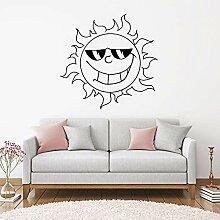 Neue Wandaufkleber Aufkleber Cartoon Sun