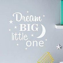 Neue Wandaufkleber Aufkleber Traum Große Kleine
