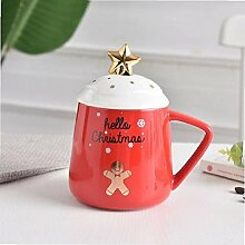 Neue Weihnachten Keramik Kaffee Becher 3D