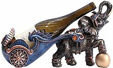 Neue Weinregal Elefant Statue Ornamente