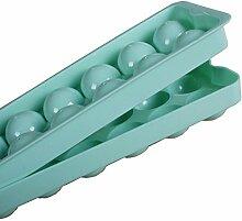 Neuer Entwurfs runde Kugel geformt Lebensmittel Klasse Eiswürfel einfrieren Form Hersteller Ehemalige Mould für Hause Partei Bar DIY (1Stk: zufällige Farbe)