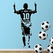Neues Design Lionel Messi Abbildung Wand Aufkleber