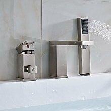 Neues Design Nickel gebürstet Bad Badewanne