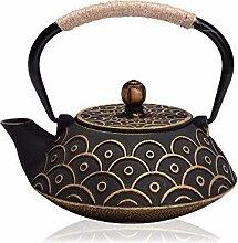 Neues gusseisernes Teekannenset Japanische