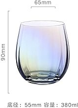 Neues Produkt Regenbogen Glas Set Rotweinglas