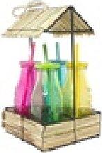 Neuetischkultur Gläser-Set Trinkbecher mit Hütte