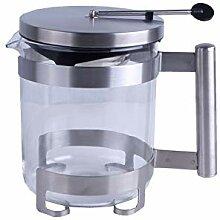 neuetischkultur Teekanne Glas mit Einsatz RVS