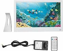 NEUFDAY 11 Zoll Digitaler Bilderrahmen HD LED mit