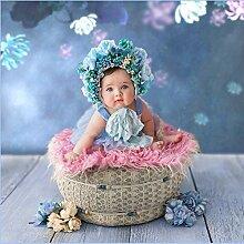 Neugeborenes Baby Foto Requisiten Korb-Baby
