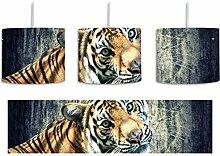 Neugieriger Tiger inkl. Lampenfassung E27, Lampe