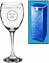 Neuheit Geschenk Weinglas mit Gravur | Mummy
