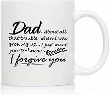 Neuheit Kaffee-Haferl für Papa, ich vergebe dir -