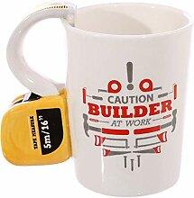 Neuheit Kaffeetasse, Keramik Tee Milchsuppe Cup 3D
