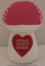 Neuheit Pilz Fliegenpilz Türstopper Home Sweet Home fd1121a