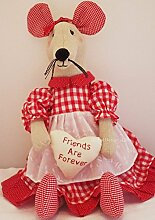 Neuheit Tür Türstopper Maus Friends Are Forever fd0493d