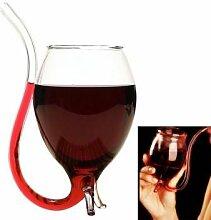 Neuheit Vampire Weinglas Borosilikatglas Weinglas