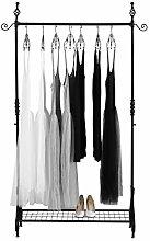NEUN WELTEN Barock Kleiderständer 110 × 38,5 ×