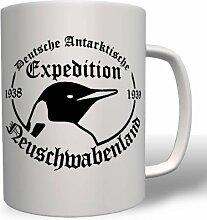 Neuschwabenland Deutsche Antarktische Spedition - Tasse Becher Kaffee #137