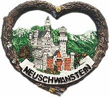 Neuschwanstein, Bayern Deutschland 3D