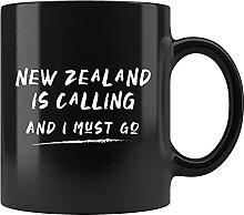 Neuseeland Geschenk, Neuseeland Tasse, NZ Tasse,