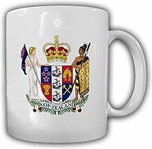 Neuseeland Wappen Emblem Kaffee Becher Tasse #13824