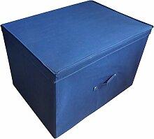 Neusu Faltbare Aufbewahrungsbox, blau, Multipack